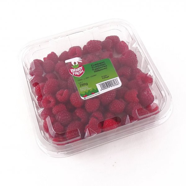 Punnet with lid