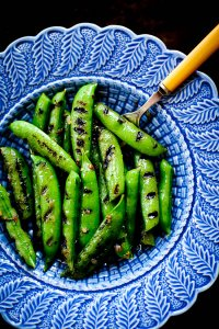 GRILLED SUGAR SNAP PEAS
