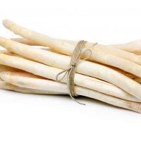 Asparagus tips white