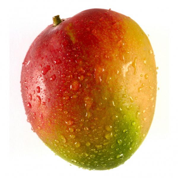 Mango transportado en avión