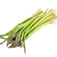 Aspergetips groen